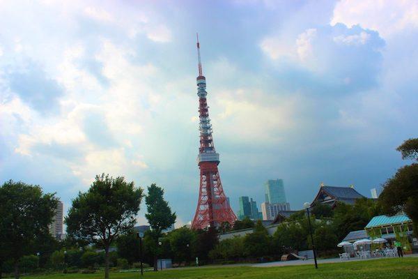 Bike Tokyo 1 - Tokyo Tower