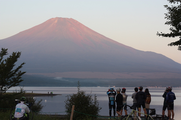 Fuji Long Ride - Yamanashi Prefecture view