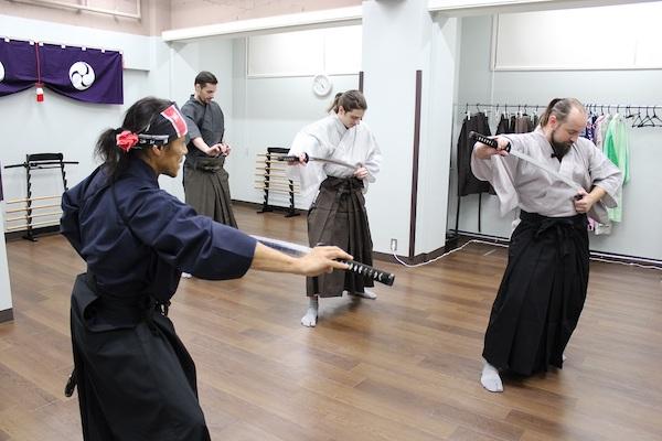 Inside samurai workout