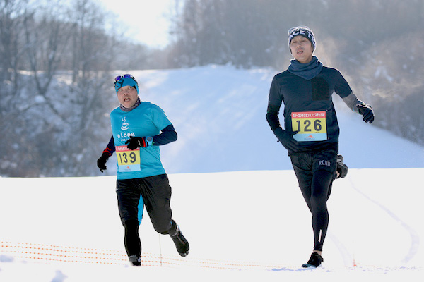 Snow run in Hokkaido