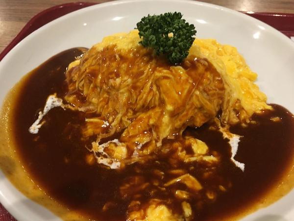 Hayashi omurice dish in Japan