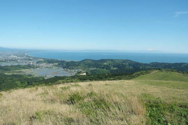view of coast in Akita