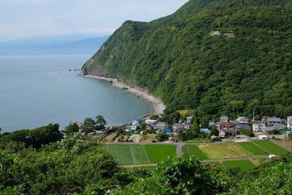 Izu peninsula coast