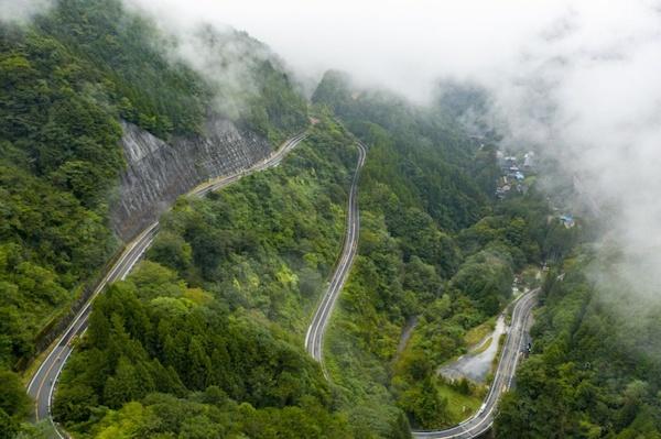 tokyo hillclimb series - hinohara stage course