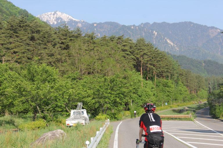 Cycling in Nagano open roads