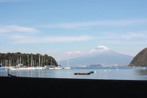 boat dock in izu