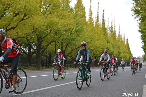 cyclist during Bike Tokyo