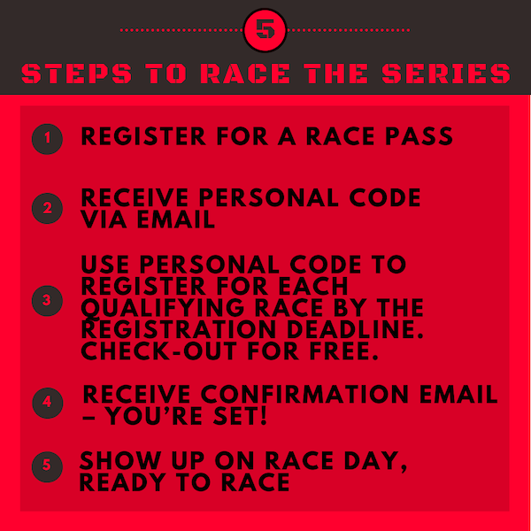 steps to race the series
