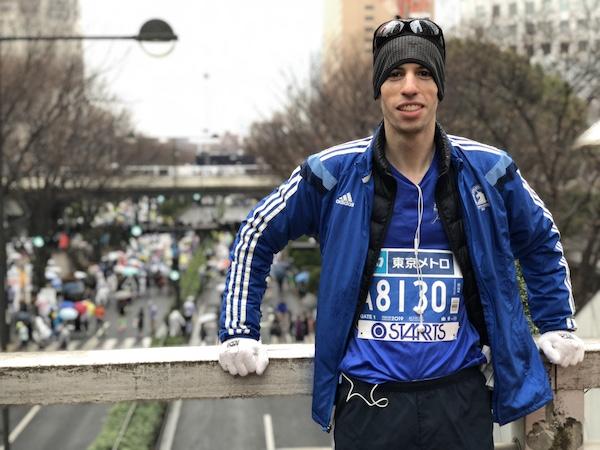 Dan before Tokyo Marathon