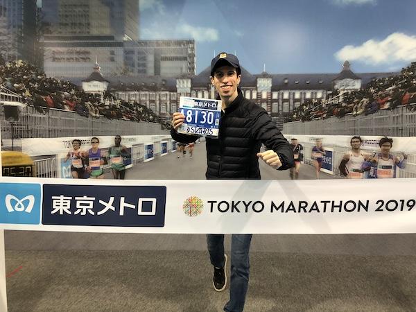 Runner at 2019 Tokyo Marathon Expo