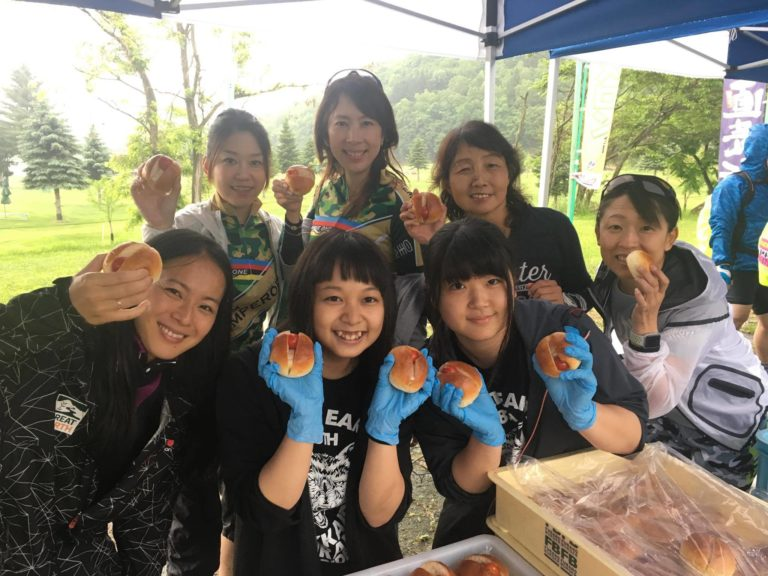 great earth staff at Furano ride