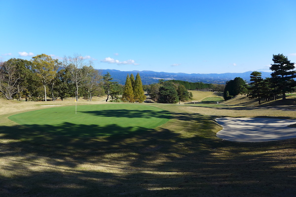 course at Tomei Country Club