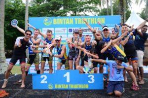 Bintan Triathlon podium