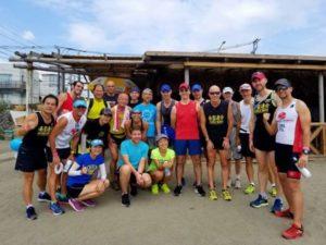 Ironman participants
