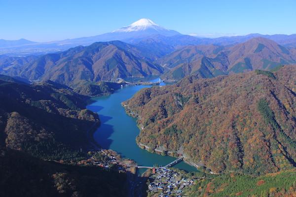 view of Ashigara Long Ride course