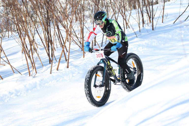 snow bike during Snow Endurance Festival