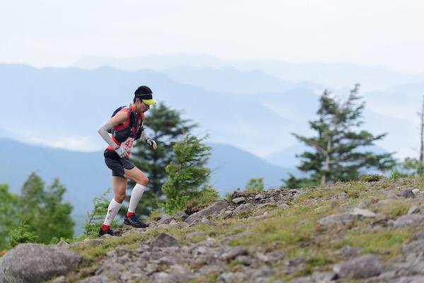 runner during Utsukushigahara trial race