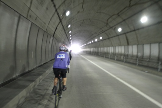 cyclist during station ride in minami boso