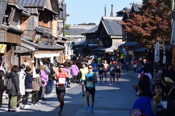 Running through Oharaimachi