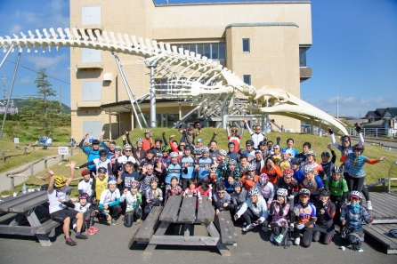 station ride participants