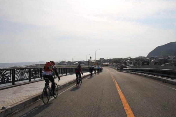 cyclist in minami boso