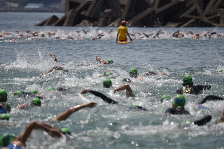 ise triathlon swimmers