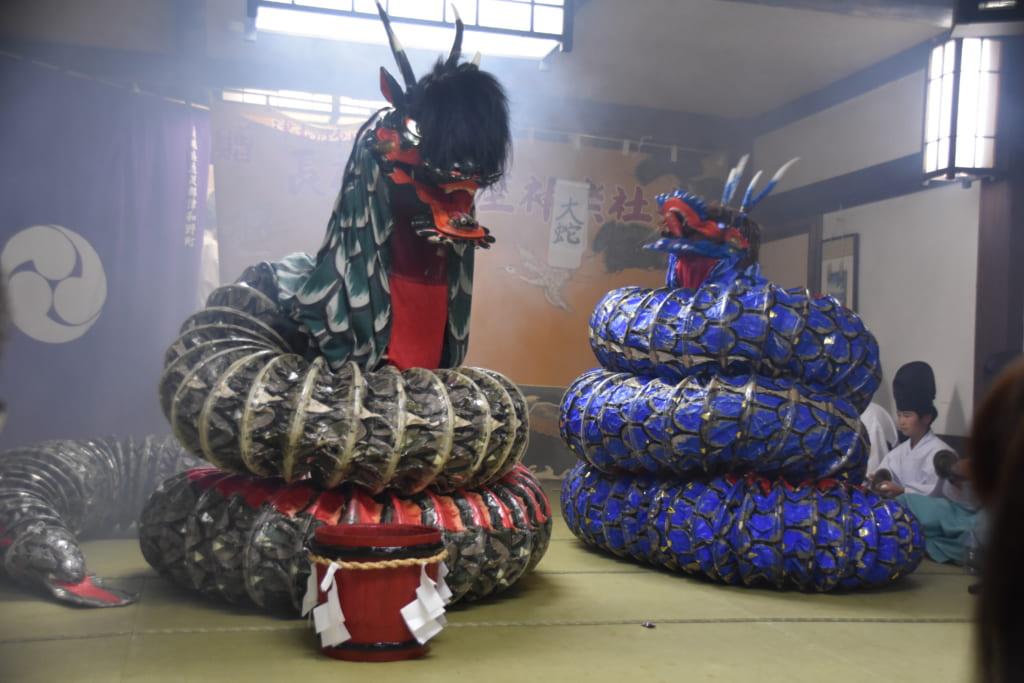 Japanese dragon show
