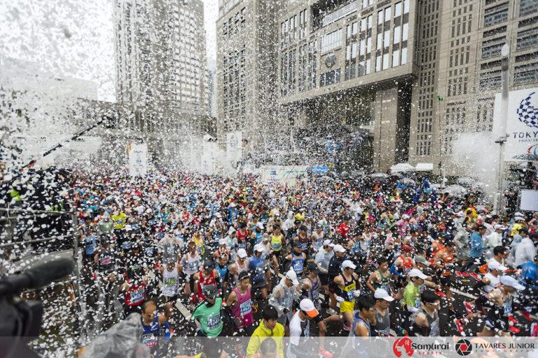 Tokyo Marathon start line