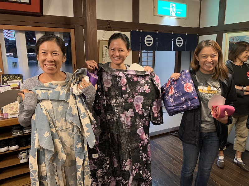 ladies with their Yakuta
