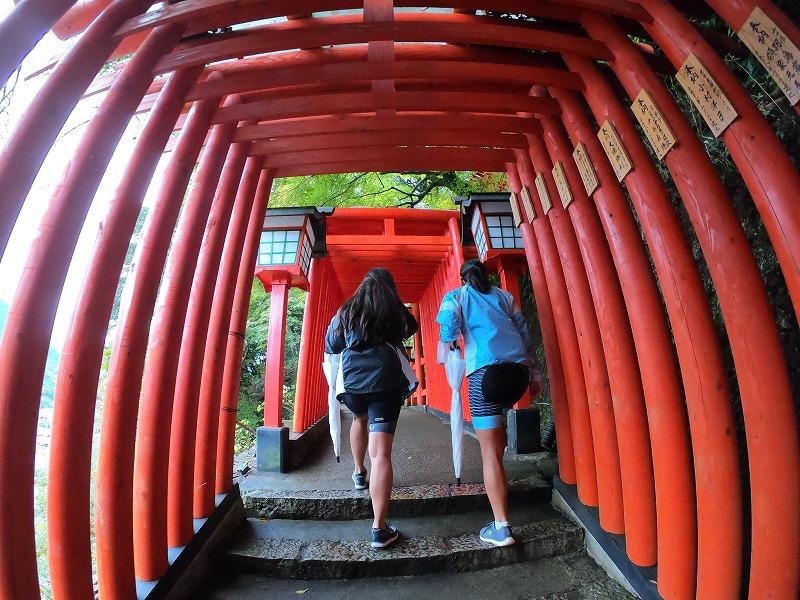 path to inari shrine