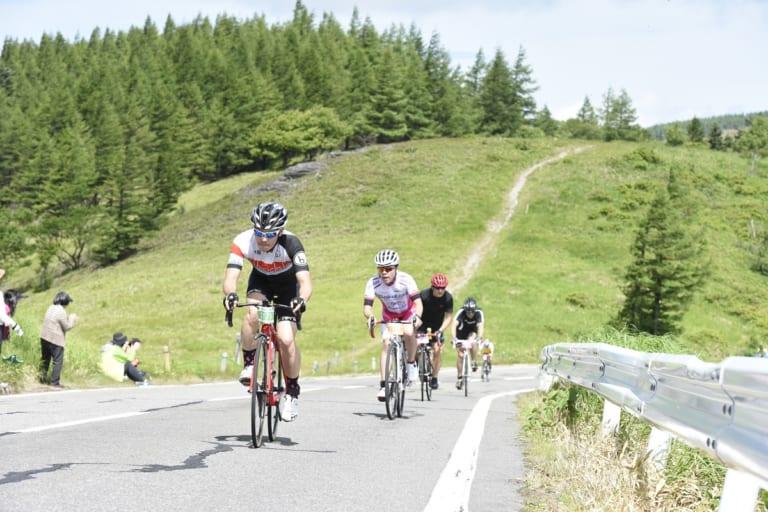 2019 Tour de Utsukushigahara cyclists