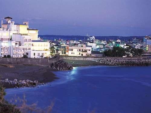 view of seaside hotel geibouso