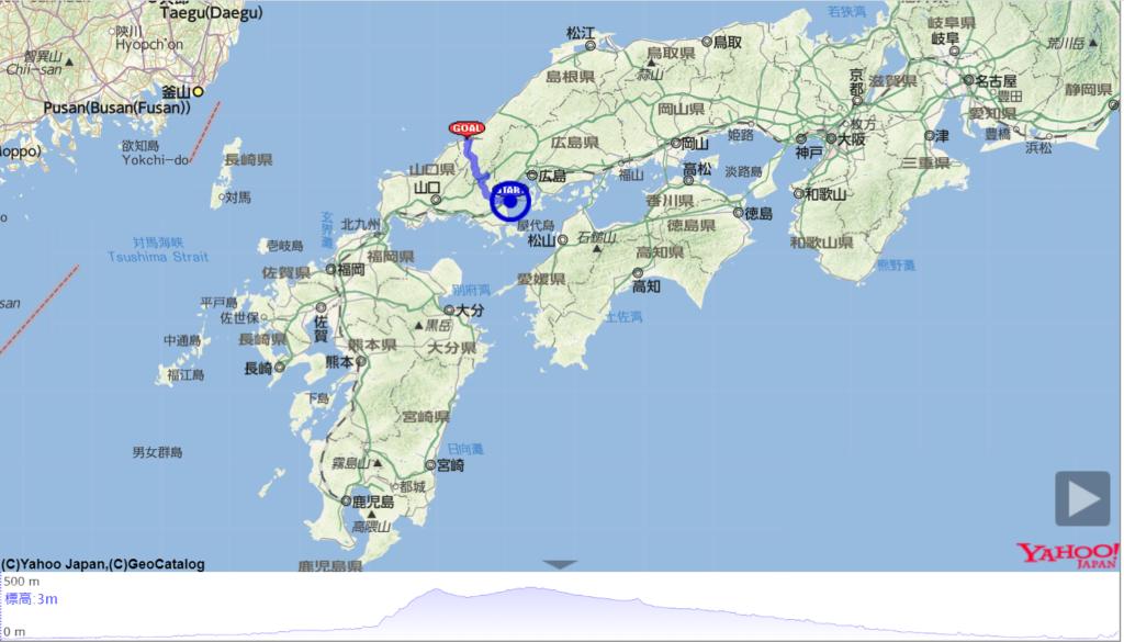 iwa iwa ride course map