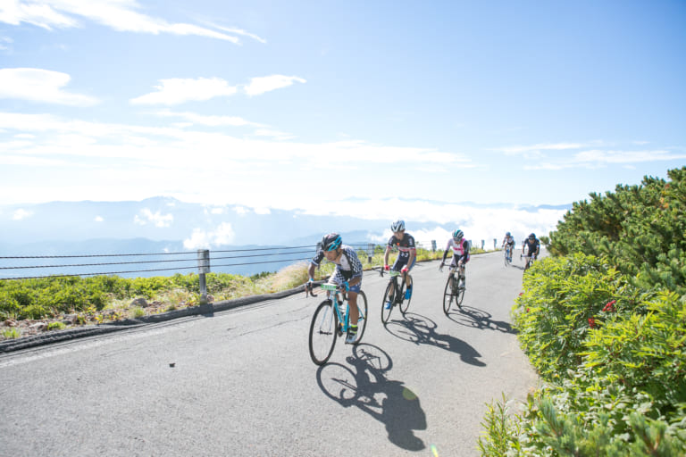 Cycling Norikura