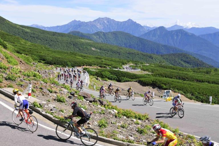 Cycling Nagano's Mt. Norikura