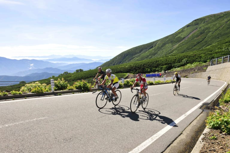 Climbing Japan's highest pave roads in Nagano