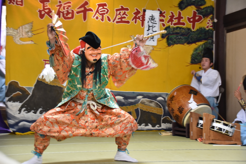 Iwami kagura celebration