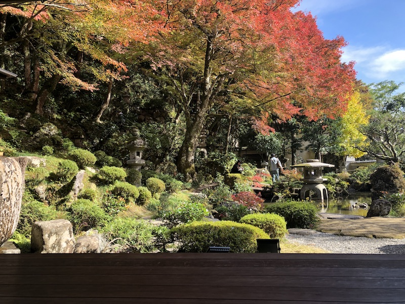 tsuwano in fall
