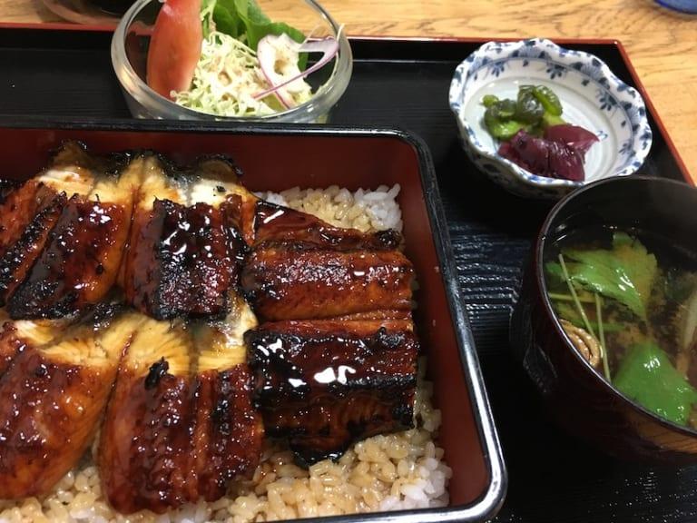 tsuwano eel dish