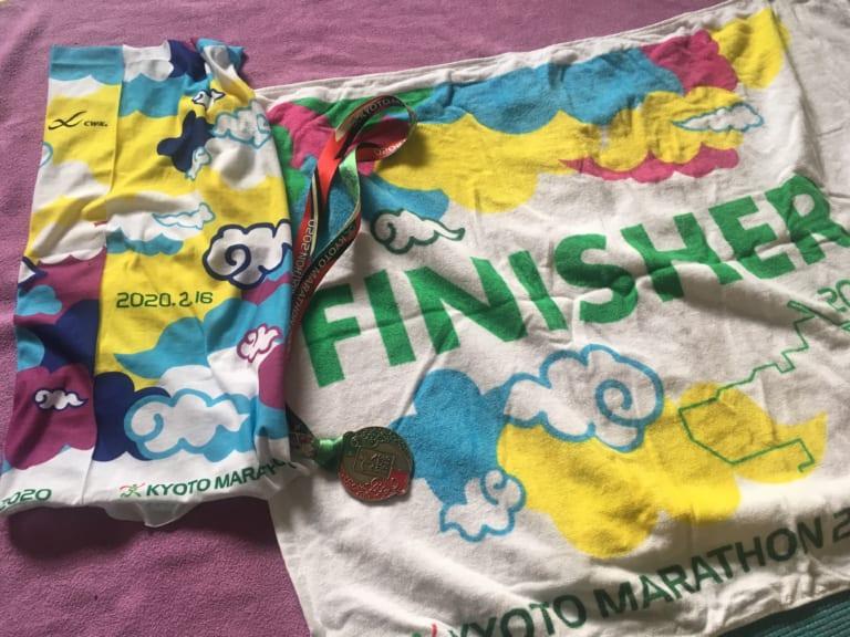 Kyoto Marathon finisher entitlements