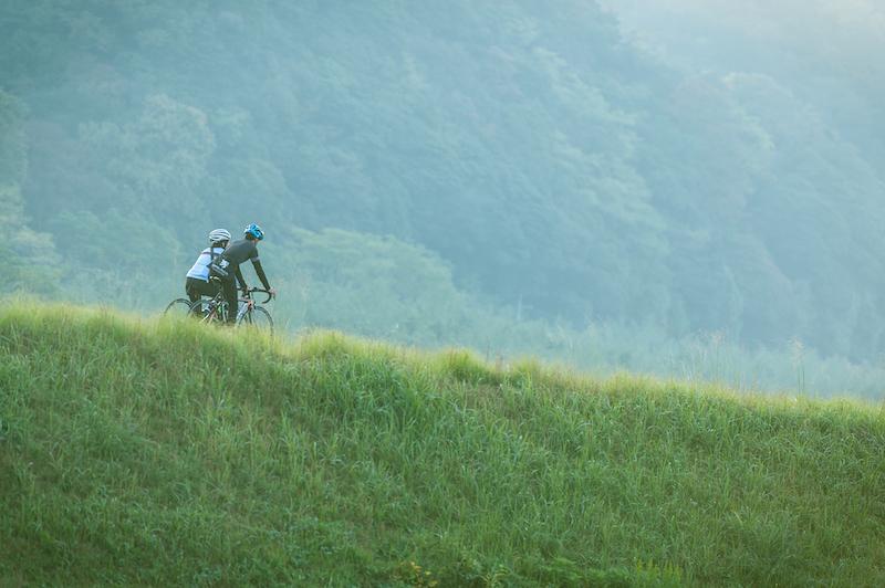 cycling in tsuwano