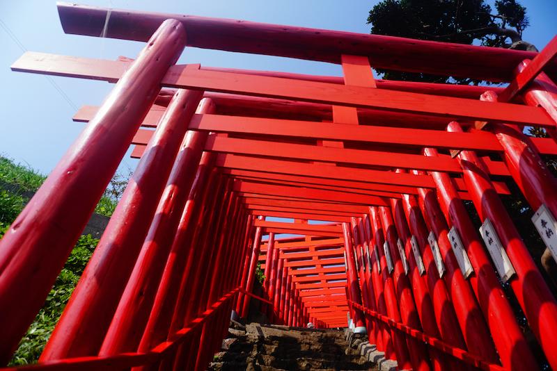 Motonosumi Shrine tori gates