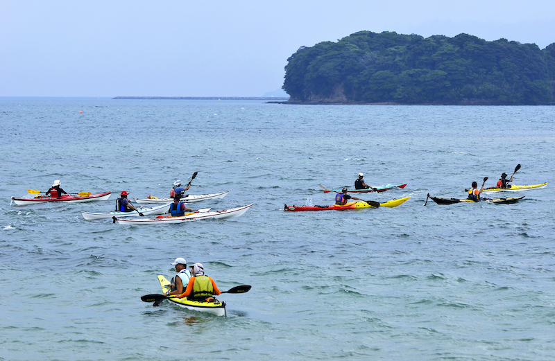 kayaking in hagi