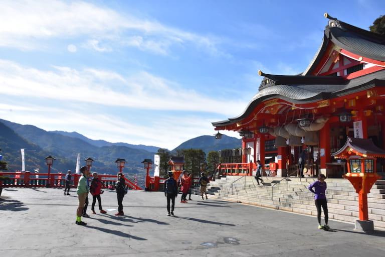 front of Taikodani Inari Shrine