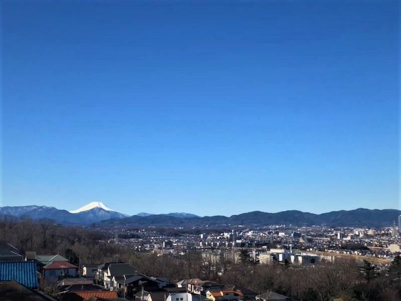 View from Minamidaira ridge