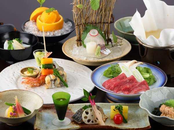tomore ryokan dinner