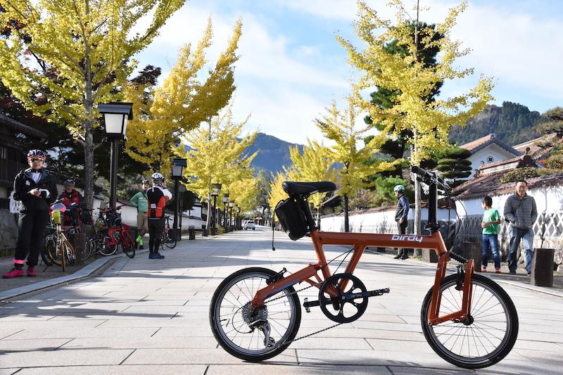 bike on Tonomachi street