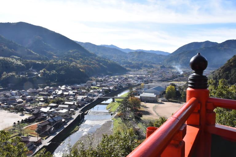 view from taikodaini