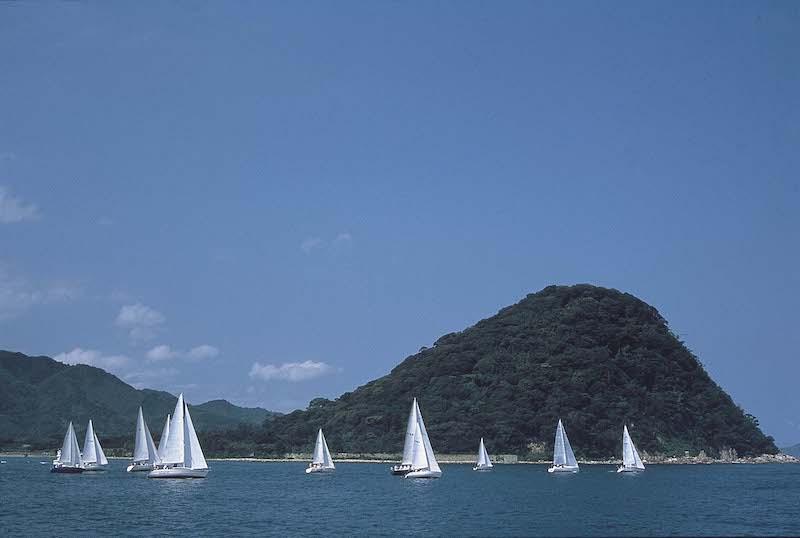 yacht race in Hagi