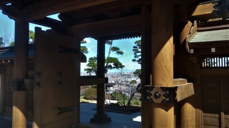 View from Jufukuji shrine
